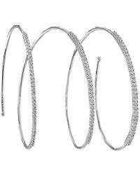 Mattia Cielo | Rugiada Diamond Pave Bracelet | Lyst