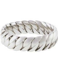 Sidney Garber - Polished Wave Stretch Bracelet - Lyst