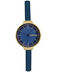 Rumbatime - Orchard Leather Watch - Lyst