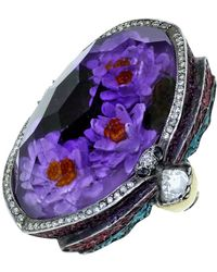 Sevan Biçakci | Waterlily Amethyst Ring | Lyst