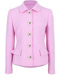 Dolce & Gabbana Lily Jacket And Skirt Set - Pink