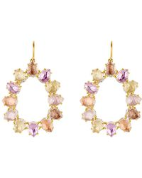 Larkspur & Hawk - Caterina Small Frame Bellini Earrings - Lyst