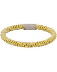 Carolina Bucci - Yellow Twister Band Bracelet - Lyst