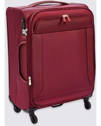 Marks & Spencer - Medium 4 Wheel Ultralight Soft Suitcase With Security Zip - Lyst