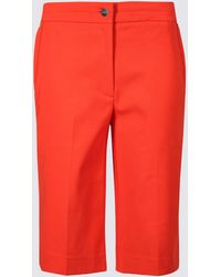 Marks & Spencer - Cotton Blend Tailored Shorts - Lyst