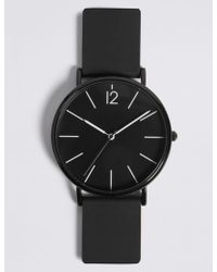 Marks & Spencer - Silicone Strap Watch - Lyst
