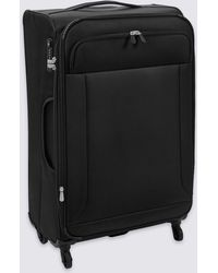 Marks & Spencer - Large 4 Wheel Ultralight Soft Suitcase With Security Zip - Lyst