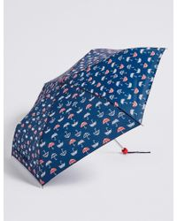 Marks & Spencer - Printed Umbrella With Stormweartm - Lyst