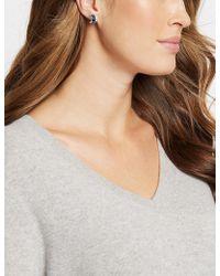 Marks & Spencer - Baguette Hoop Earrings Made With Swarovski Elements - Lyst