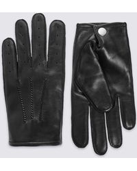 Marks & Spencer - Leather Driving Gloves - Lyst