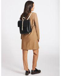 Marks & Spencer - Faux Leather Tab Stud Rucksack Bag - Lyst