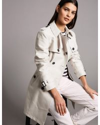 Marks & Spencer - Cotton Blend Trench Coat - Lyst