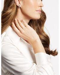 Marks & Spencer - Curved Hoop Earrings - Lyst