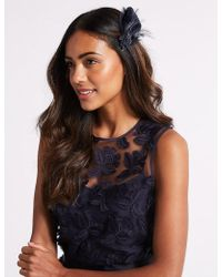 Marks & Spencer - Feather Clip Fascinator - Lyst
