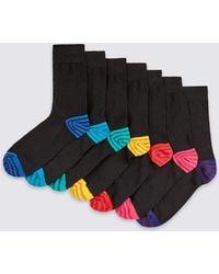 Marks & Spencer - 7 Pack Cool & Freshfeettm Socks - Lyst