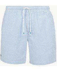 7d47f6fc41bcd Lyst - Marks & Spencer Cotton Rich Quick Dry Swim Shorts in Blue for Men