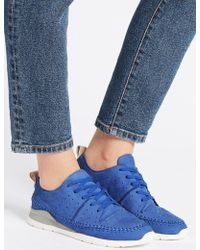 Marks & Spencer - Suede Whipstitch Lace-up Trainers - Lyst