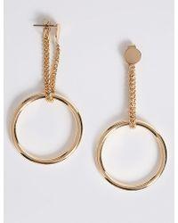 Marks & Spencer - Loop The Hoop Earrings - Lyst