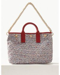 Marks & Spencer - Tweed Tote Bag - Lyst