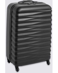 Marks & Spencer - Large 4 Wheel Essential Hard Suitcase With Security Zip - Lyst