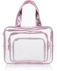 Marks & Spencer - 3 Piece Clear Cosmetic Bag Set - Lyst