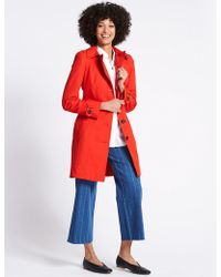 Marks & Spencer | Trench Coat With Stormweartm | Lyst