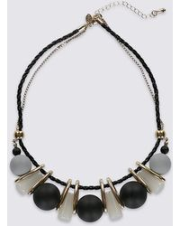 Marks & Spencer - Resin Ball Necklace - Lyst
