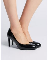 b9790cd4de4 Lyst - Kate Spade Almond Toe Platform Pumps - Nessle High Heel in ...