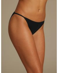 Marks & Spencer - 5 Pack Cotton Rich Garter Assorted Bikini Knickers - Lyst