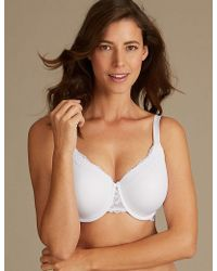 cc79a51be9a Lyst - Marks   Spencer 2 Pack Non-padded Full Cup Nursing Bras B-g ...