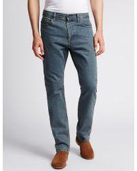 Marks & Spencer - Regular Fit Jeans - Lyst