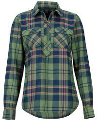 Marmot - Women's Joss Lightweight Flannel Ls Shirt - Lyst