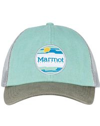 467138c7 Calvin Klein Straw Baseball Hat W/logo Patch in Blue - Lyst