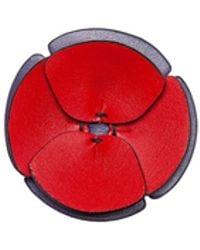 Marni - Flower Brooch In Leather - Lyst