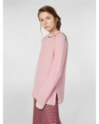 Marni - Crew-neck Knit In Virgin Wool And Nylon - Lyst