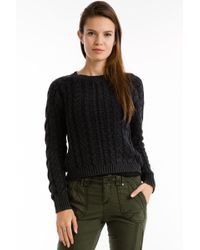 Marrakech - Sarah Cable Knit Jumper - Lyst