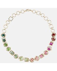 Mary Katrantzou - Nostalgia Necklace Light Multi - Lyst