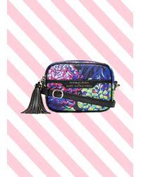 80ea22223c9 Mary Katrantzou Mvk Medium Leather Cross-Body Bag in Purple - Lyst