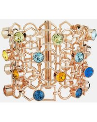 Mary Katrantzou - Nostalgia Wide Bracelet Light Multi - Lyst