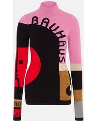 Mary Katrantzou - Marcel Jumper Bauhaus Pink - Lyst