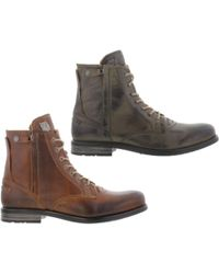 Sneaky Steve - Kingdom Leather Warm Lined Boots - Lyst