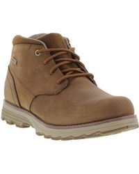 Caterpillar - Elude Waterproof Leather Lace Up Ankle Boots - Lyst