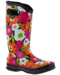 Bogs - Rainboot Spring Flowers Wellys - Black Multi - Lyst