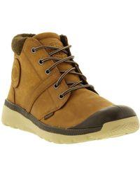 Palladium - Pallaville Hi Cuff L Chukka Boots - Lyst