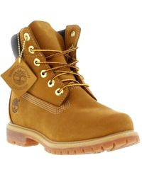9e6593b9672 Timberland 6 Inch Premium Pull On Boots in Brown - Lyst