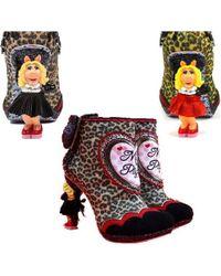 Irregular Choice - Fierce Piggy Muppets High Heel Shoes - Lyst