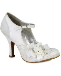 Ruby Shoo - Emily Vegan Wedding Bridal Court Shoes - Lyst