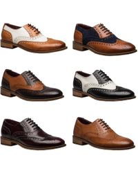 9794435307b5a Gatsby Leather Wingtip Brogue Shoes