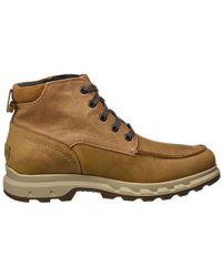 Sorel - Portzman Moc Toe Waterproof Leather Ankle Boots - Lyst