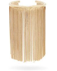 Givenchy - Chain Fringe Logo Cuff - Lyst